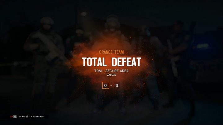 Total defeat