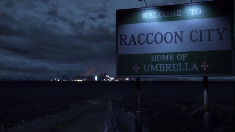 Thành phố Racoon: Quê nhà của Umbrella